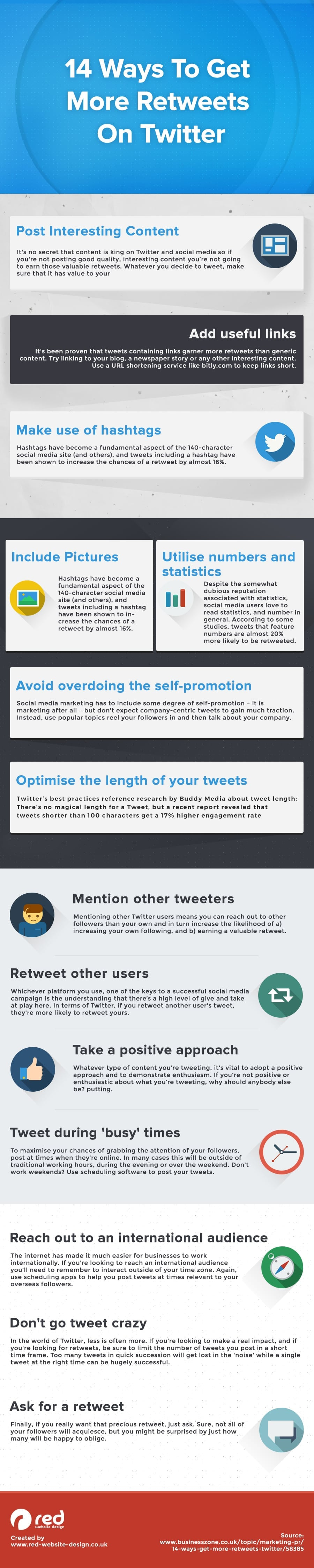 14 Cool Ways To Get More Twitter Retweets