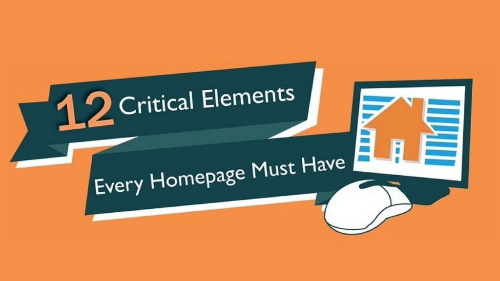 12 Necessary Elements Of An Optimized Homepage