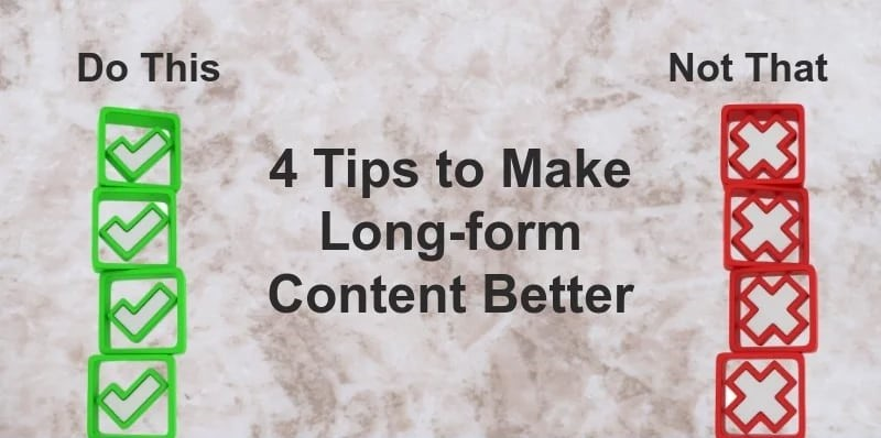 4 Tips To Write Better Blog Content