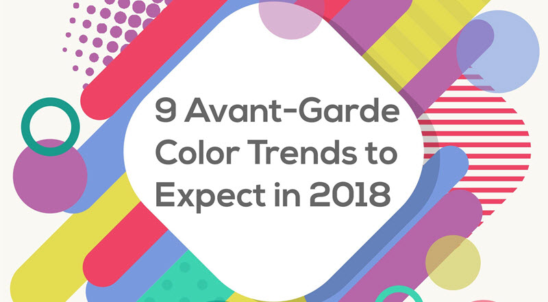 9 Unusual Color Trends For Your Brand Design in 2018