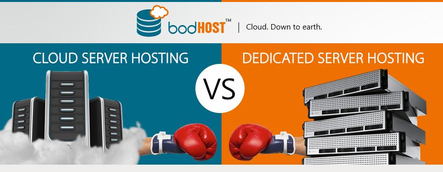 Cloud Server vs Dedicated Server, Best For Web Hosting
