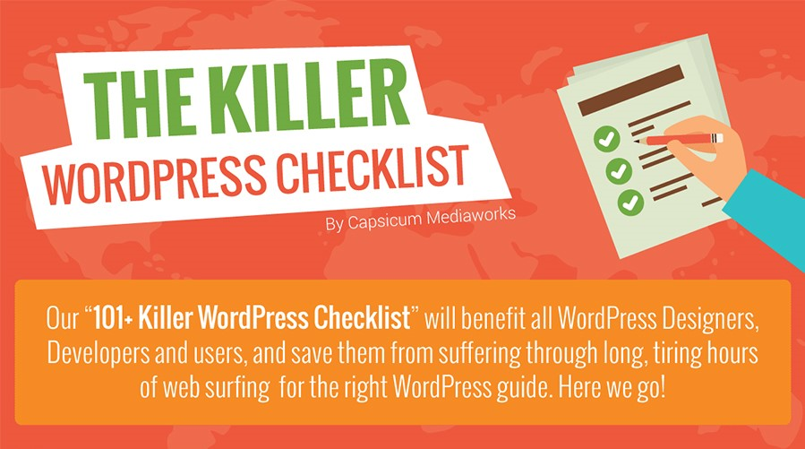 101+ Step Killer WordPress Website Checklist For Better Launch