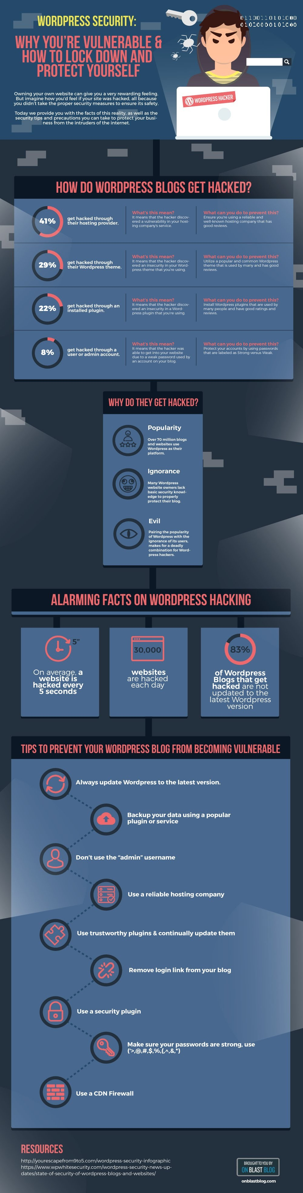 Stats, Tips And Precaution On How To Secure Your WordPress Site