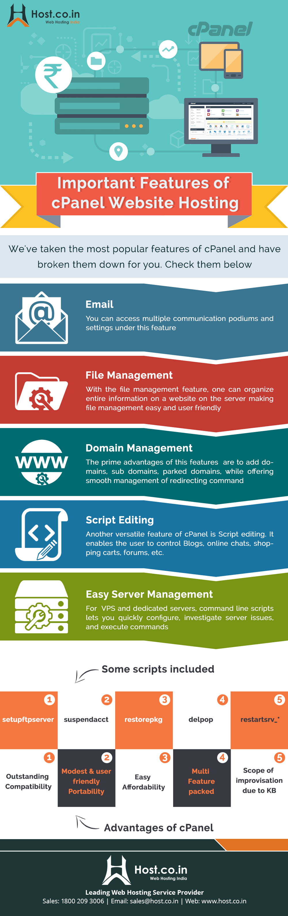 7 Important Features Of cPanel Website Hosting