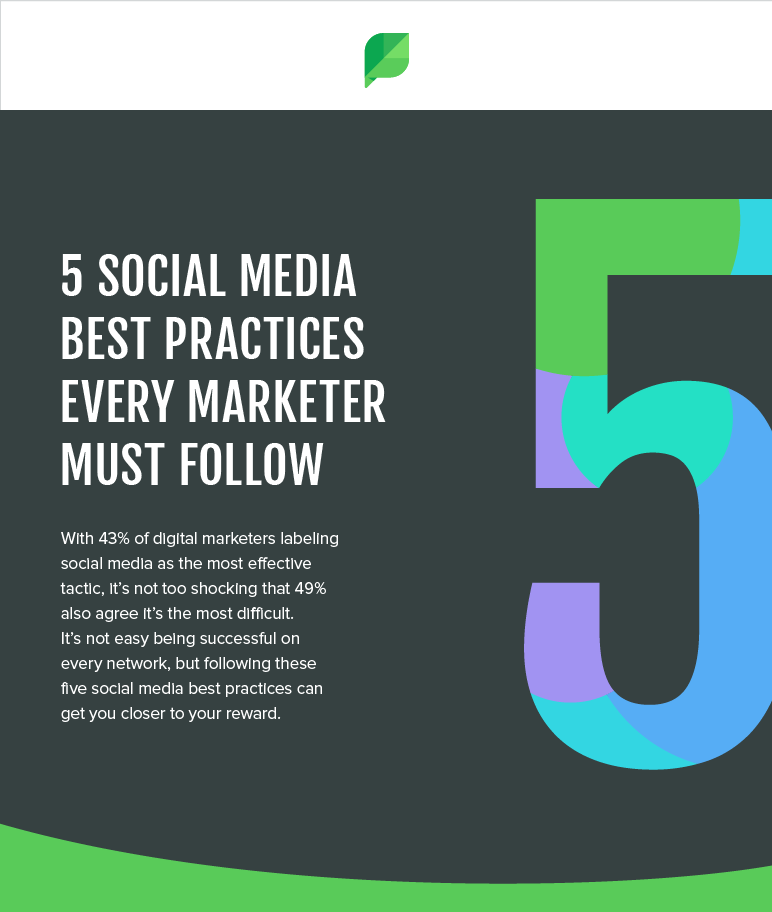 5 Social Media Best Practices For Your Marketing Success