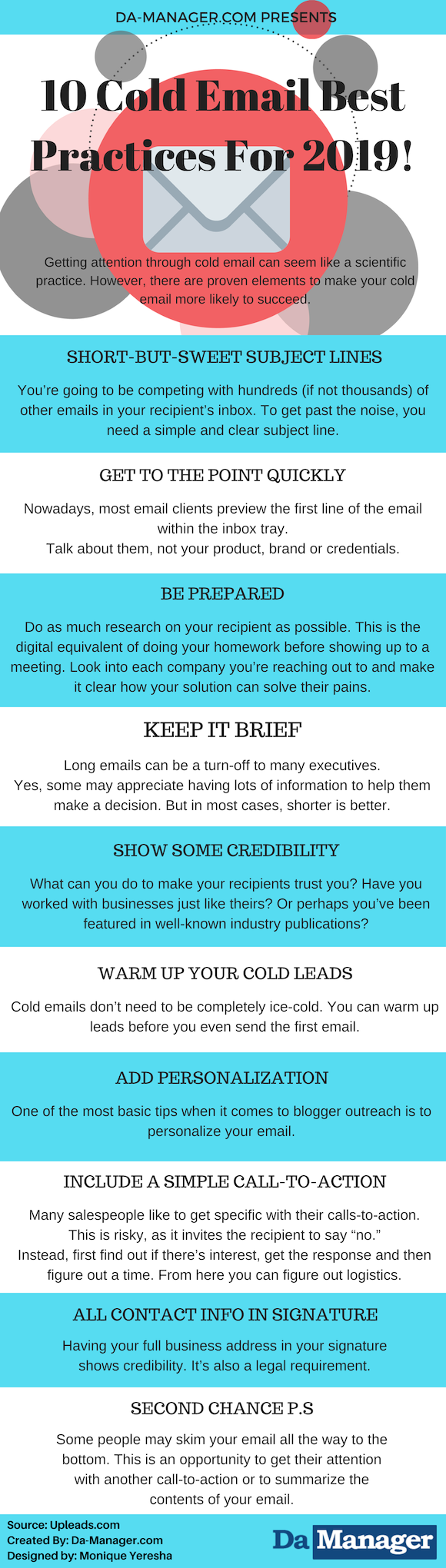 10 Cold Email Best Practices For Success