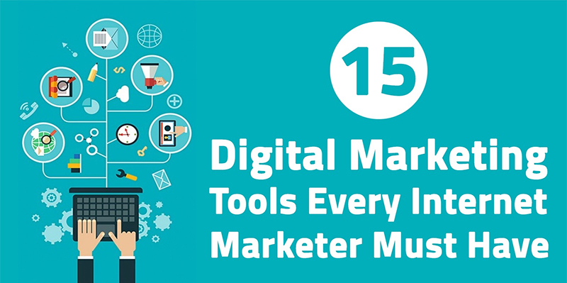 15 Digital Marketing Tools that helps grow Business