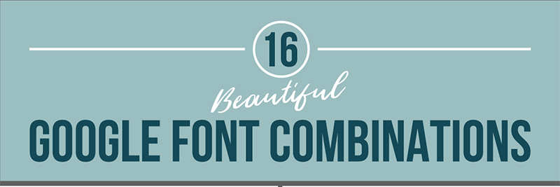 Best Google Font Combinations for Your Website
