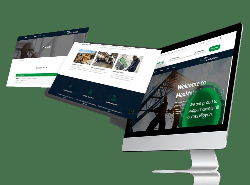 Website design Lagos Nigeria